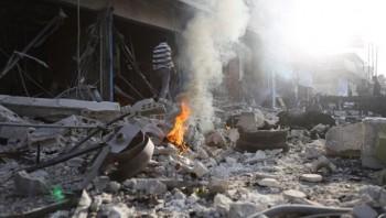 syria danh bom xe tai dong bac lam gan 30 nguoi thuong vong