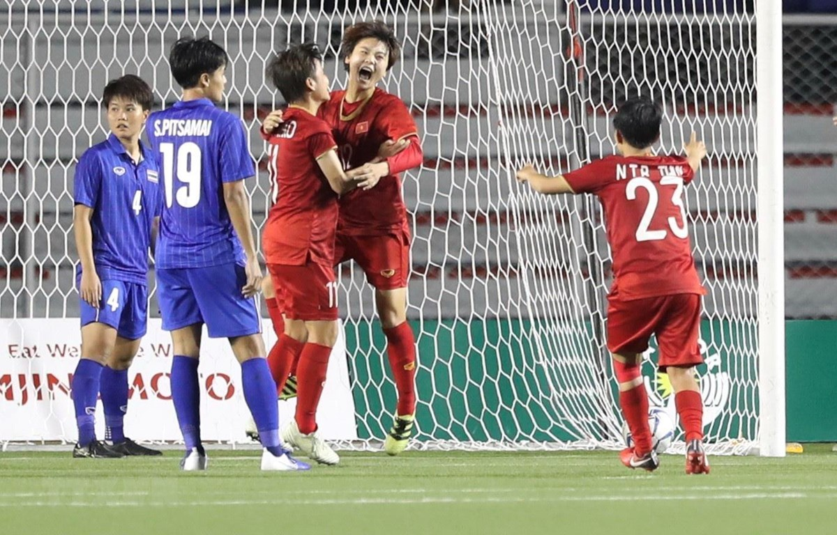 bang tong sap sea games 30 bong da nu dua viet nam tro lai top 2