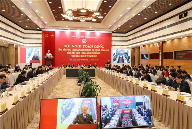 Công tác dân vận tăng cường quan hệ giữa Đảng, Nhà nước và nhân dân