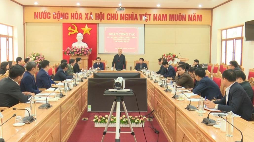 Xây dựng chuỗi sản xuất thịt lợn an toàn tại Thái Nguyên