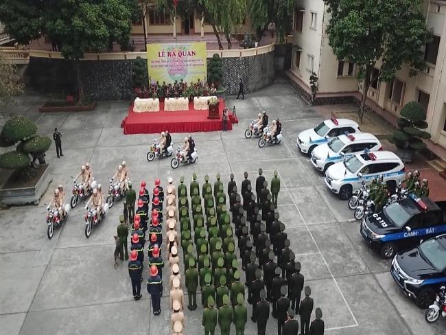 Công an Thái Nguyên triển khai các biện pháp bảo đảm an ninh trật tự Đại hội toàn quốc lần thứ XIII của Đảng