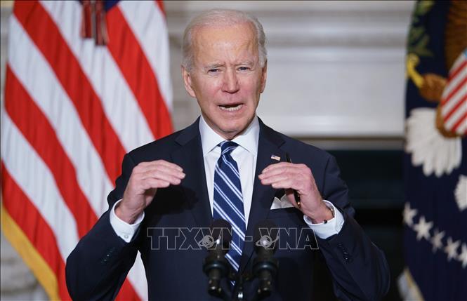 Tổng thống Mỹ thúc đẩy gói cứu trợ 1.900 tỷ USD