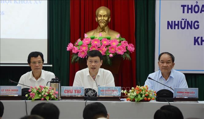 Các tỉnh, thành phố tổ chức hiệp thương lập danh sách sơ bộ những người ứng cử