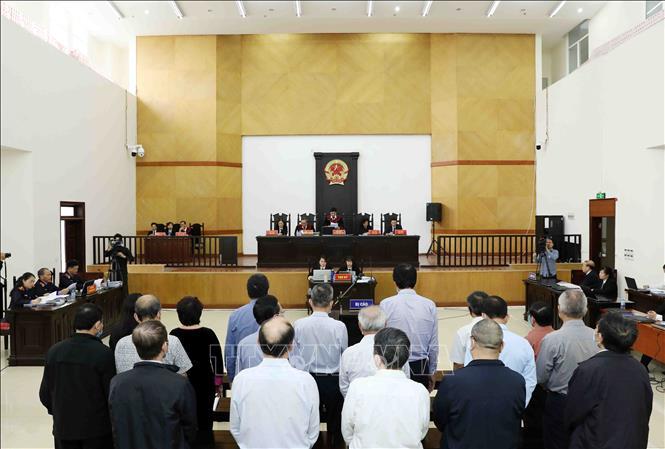 Xét xử sơ thẩm vụ án tại Công ty Gang thép Thái Nguyên