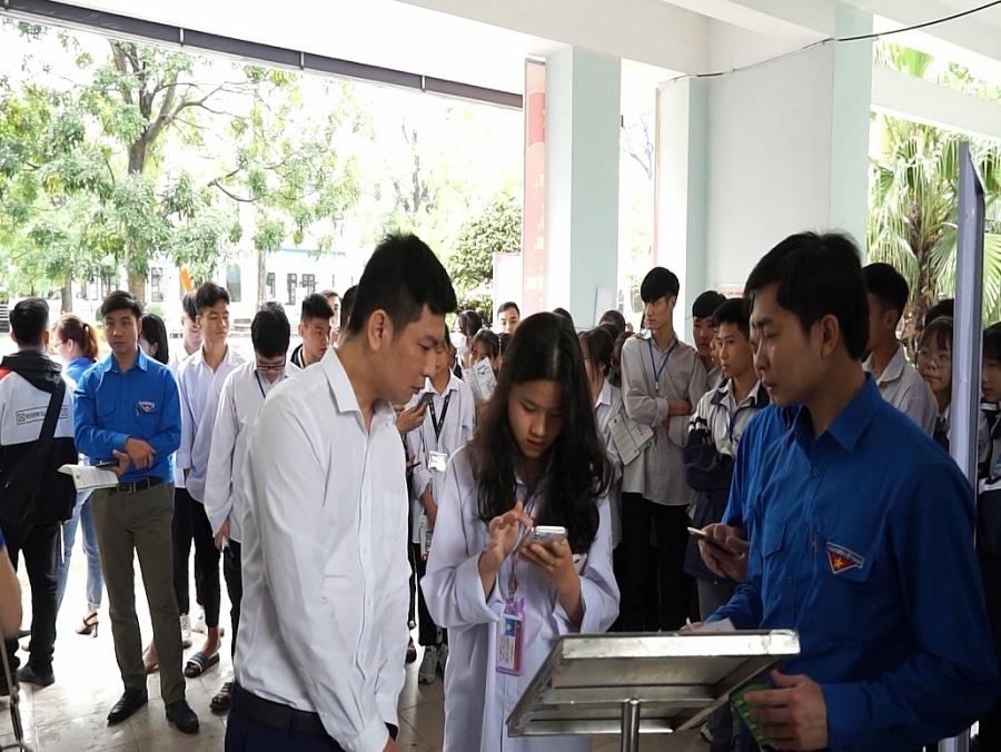 Tuổi trẻ Thái Nguyên ra quân tuyên truyền về chương trình chuyển đổi số