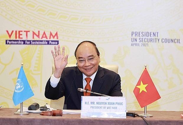 Dấu ấn và thông điệp của Việt Nam trên trường quốc tế   Thế giới   Vietnam+ (VietnamPlus)