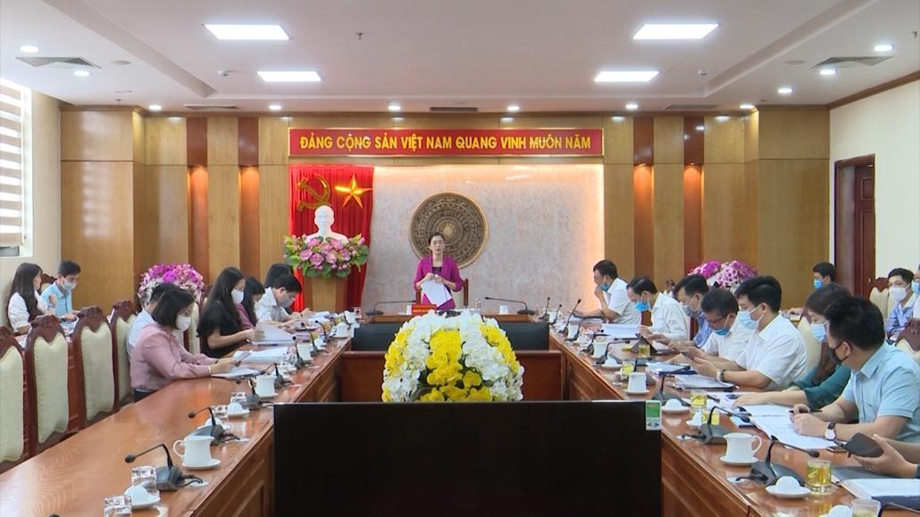 Thẩm tra các nội dung trình kỳ họp chuyên đề HĐND tỉnh khóa XIII