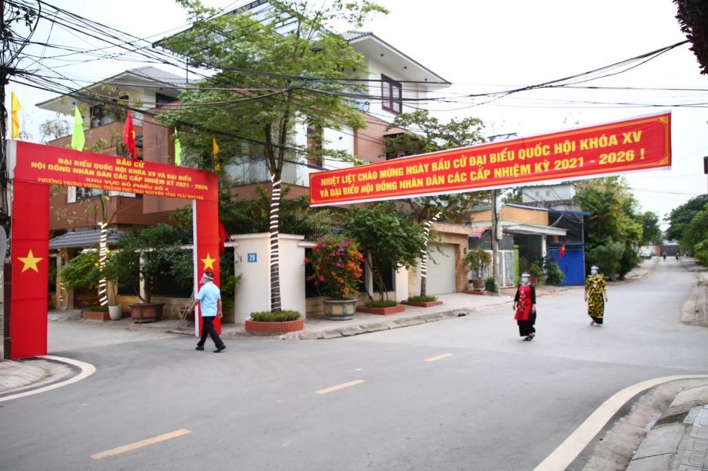 [Photo] Ngày hội bầu cử trên quê hương Thái Nguyên