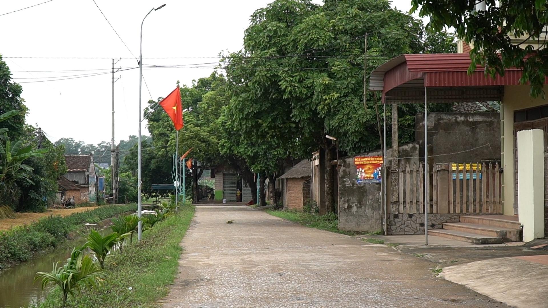 [Photo] Bên trong vùng cách ly xã Dương Thành, Phú Bình