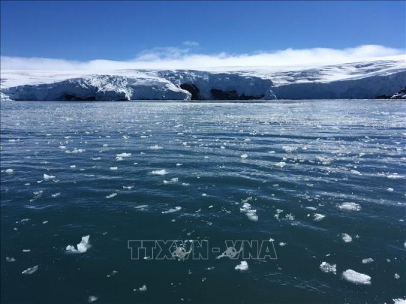Nhiệt độ Cực Nam tăng nhanh gấp 3 lần phần còn lại của Trái Đất