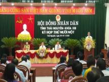 giai trinh lam ro mot so noi dung duoc trinh tai ky hop thu 11 hdnd tinh thai nguyen khoa xiii