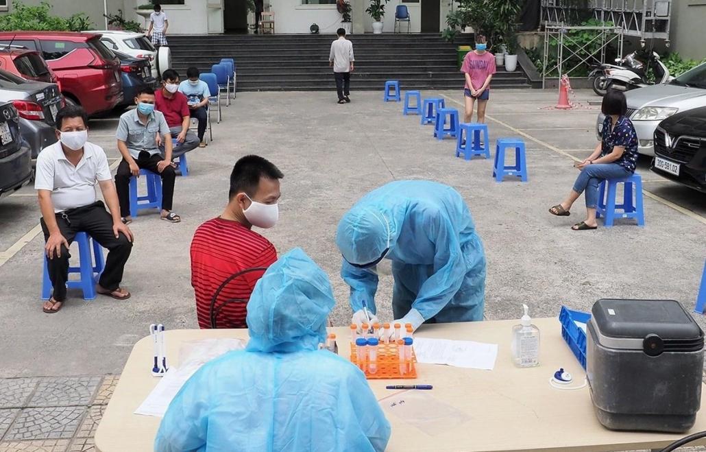 Ngày 25/7, Việt Nam tiếp tục ghi nhận 7.531 ca mắc mới COVID-19