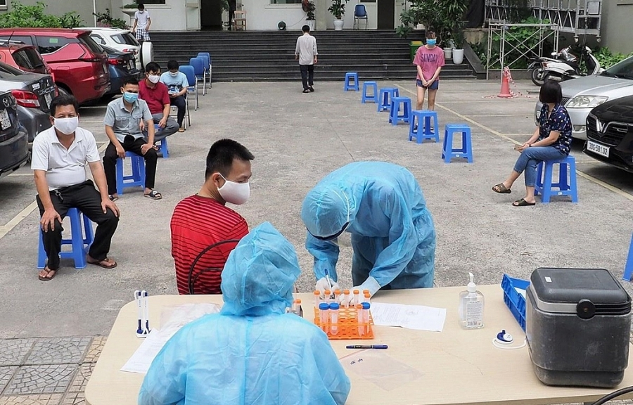 Ngày 25/7, Việt Nam tiếp tục ghi nhận 7.531 ca mắc mới COVID-19 | Y tế | Vietnam+ (VietnamPlus)