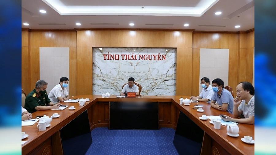 Lãnh đạo UBND tỉnh làm việc với Đại học Thái Nguyên và các trường đại học thành viên