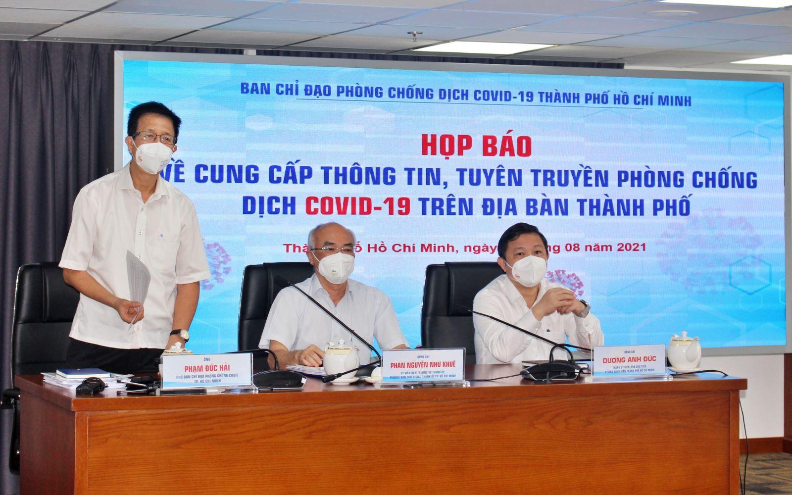 """Từ ngày 23/8, TP Hồ Chí Minh áp dụng biện pháp mạnh """"ai ở đâu ở yên đó"""" để phòng dịch"""