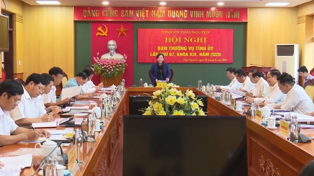 Khẩn trương rà soát các nội dung tổ chức Đại hội đại biểu Đảng bộ tỉnh lần thứ XX