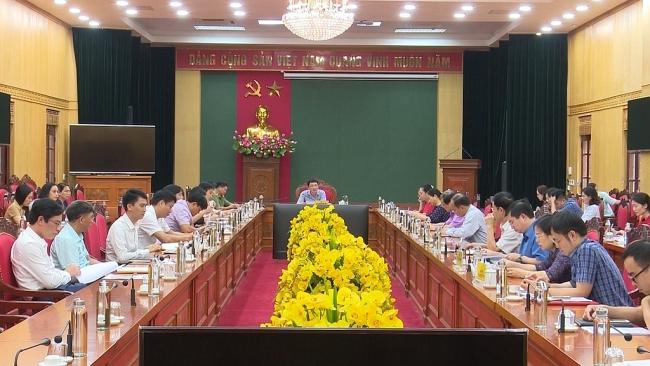 Chuẩn bị tốt công tác phục vụ Đại hội Đại biểu Đảng bộ tỉnh lần thứ XX