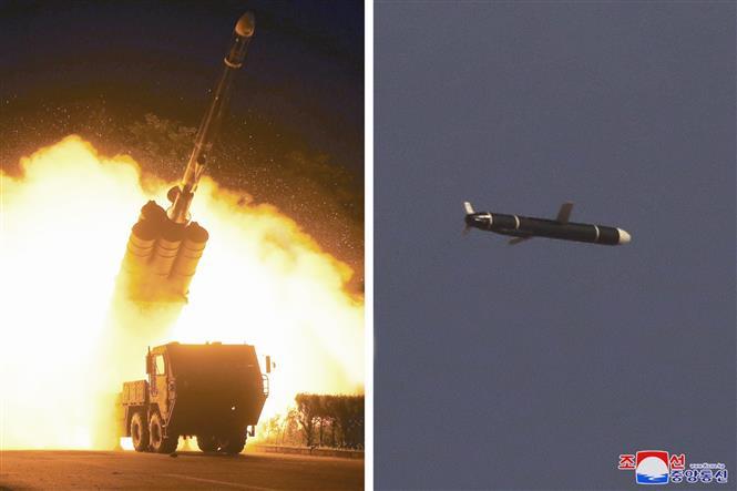 Triều Tiên phóng các quả đạn về phía Biển Nhật Bản, nghi là tên lửa đạn đạo