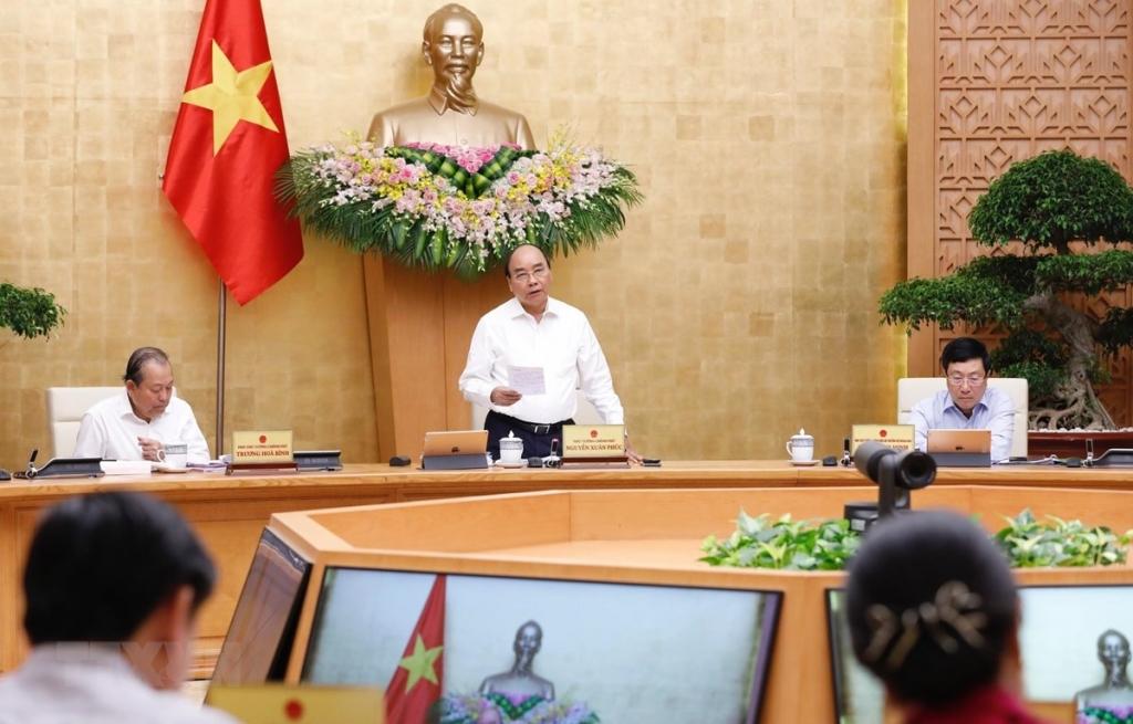 Nghị quyết phiên họp Chính phủ thường kỳ tháng 9 năm 2020