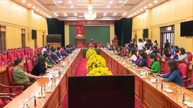 Đoàn công tác nữ Đại biểu Quốc hội thăm và làm việc tại Thái Nguyên