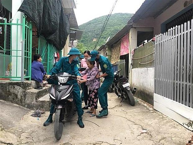 Bão số 9 giật cấp 17 hướng về khu vực Quảng Ngãi-Bình Định | Môi trường | Vietnam+ (VietnamPlus)