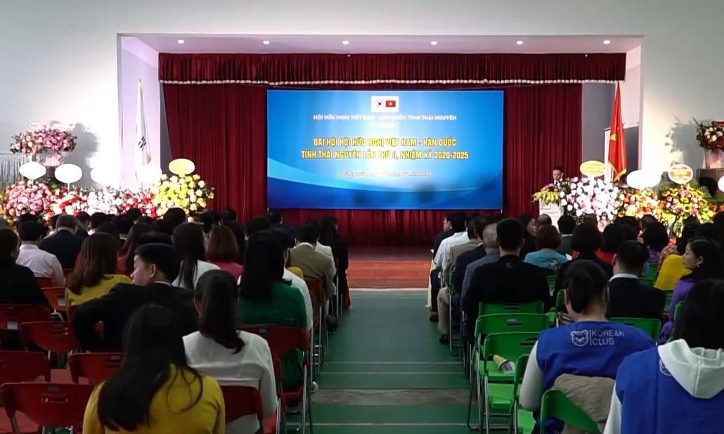 Đại hội Hội hữu nghị Việt Nam - Hàn Quốc tỉnh Thái Nguyên lần thứ II, nhiệm kỳ 2020-2025