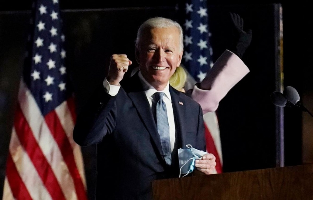 Bầu cử Mỹ 2020: Ứng cử viên Joe Biden tuyên bố giành chiến thắng