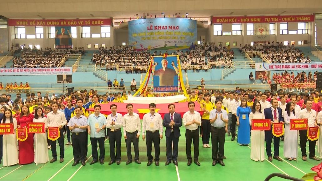 Khai mạc Hội khỏe Phù Đổng tỉnh Thái Nguyên năm 2020