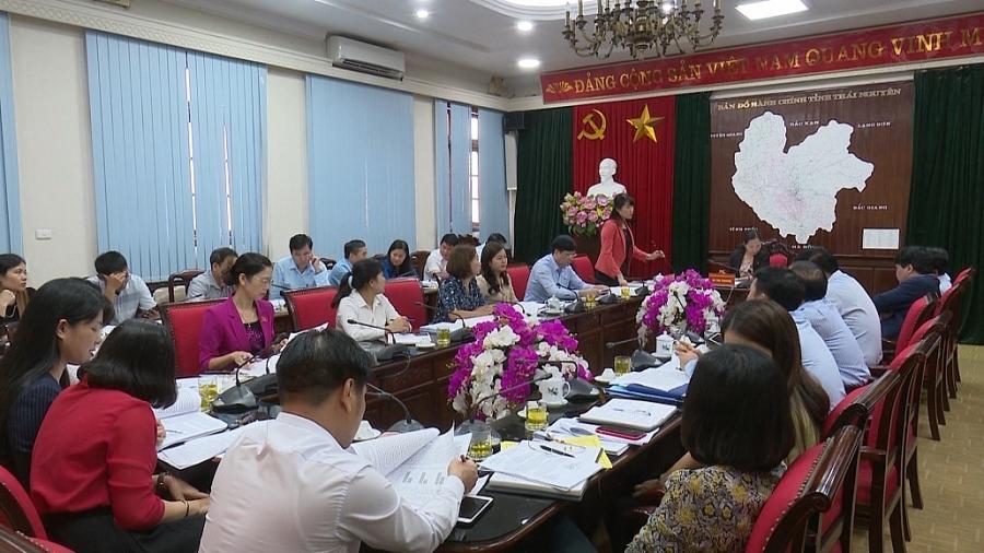Thẩm tra các nội dung trình tại kỳ họp thứ 12, HĐND tỉnh khóa XIII