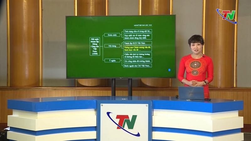 """Lịch phát sóng chương trình """"Ôn tập chương trình phổ thông năm 2020"""" ngày 29/4/2020"""