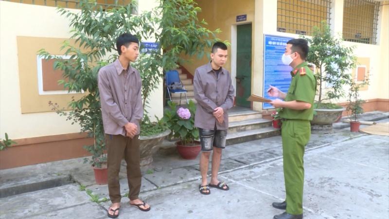 Công an thị xã Phổ Yên triệt phá chuyên án cướp giật tài sản