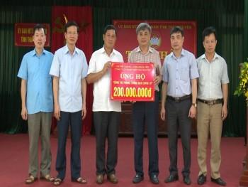 Thái Nguyên: Tiếp nhận trên 35 tỷ đồng ủng hộ công tác phòng, chống dịch Covid-19