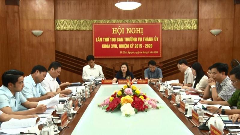 Hội nghị Ban thường vụ Thành ủy Thái Nguyên