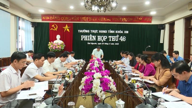Phiên họp lần thứ 46, Thường trực HĐND tỉnh khoá XIII