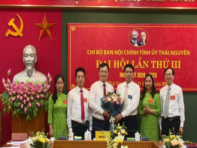 dai hoi chi bo ban noi chinh tinh uy thai nguyen lan thu iii nhiem ky 2020 2025 da ps