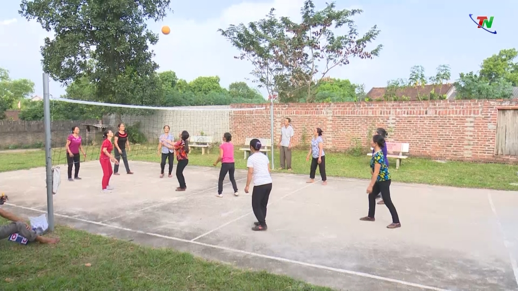 Thai Nguyen people respond to sports movement