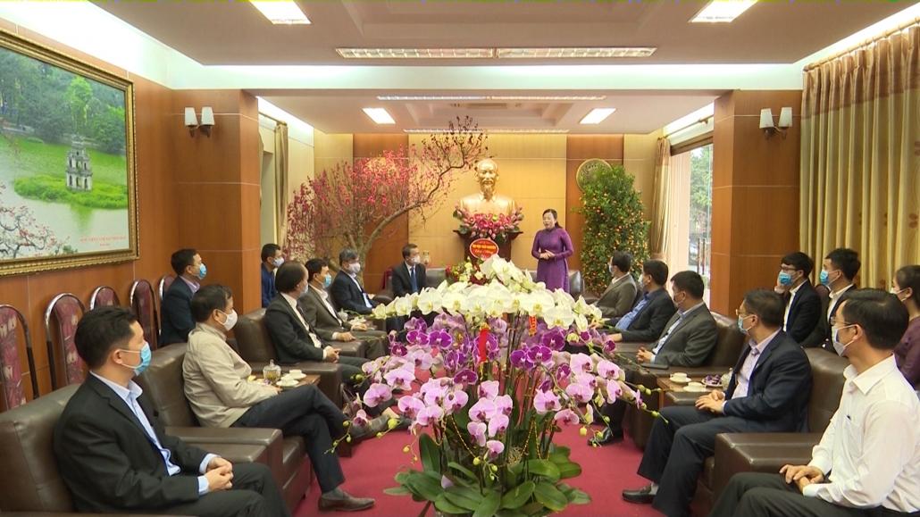 Đồng chí Bí thư Tỉnh ủy gặp mặt cán bộ, giảng viên và sinh viên quốc tế Đại học Thái Nguyên