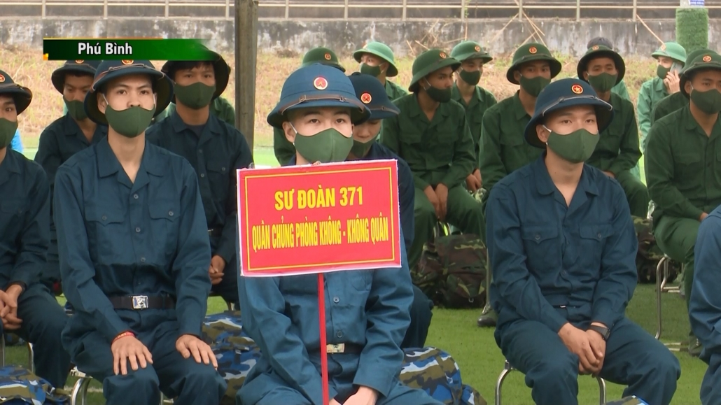 Thái Nguyên: Lễ giao nhận quân năm 2021 diễn ra trang trọng, ngắn gọn, an toàn