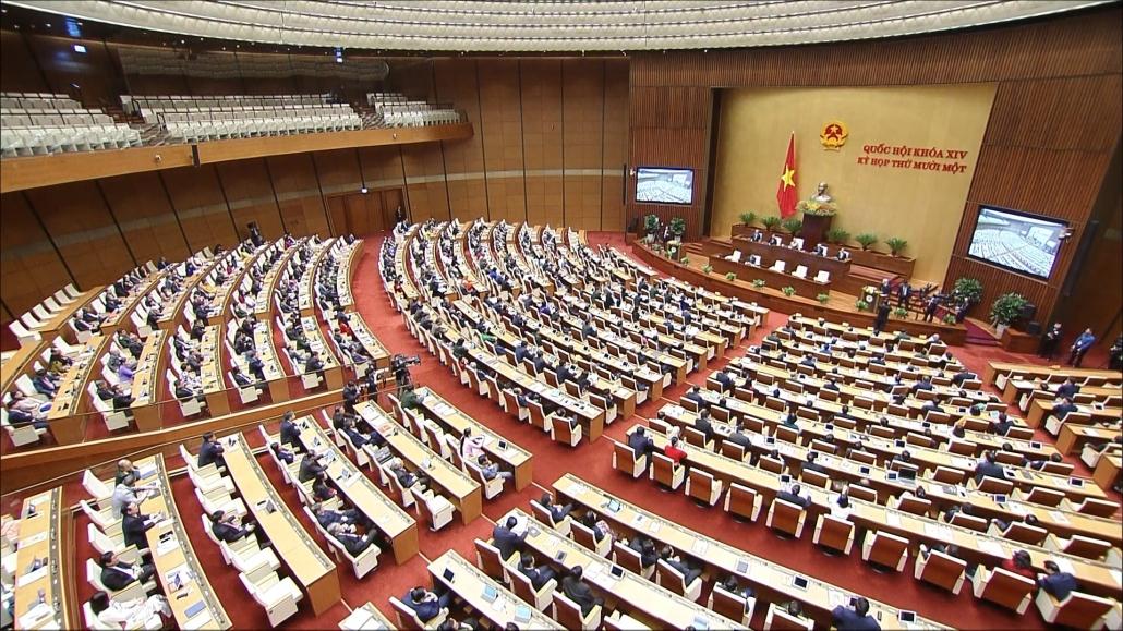 Ngày làm việc thứ 2 kỳ họp thứ 11, Quốc hội khóa XIV