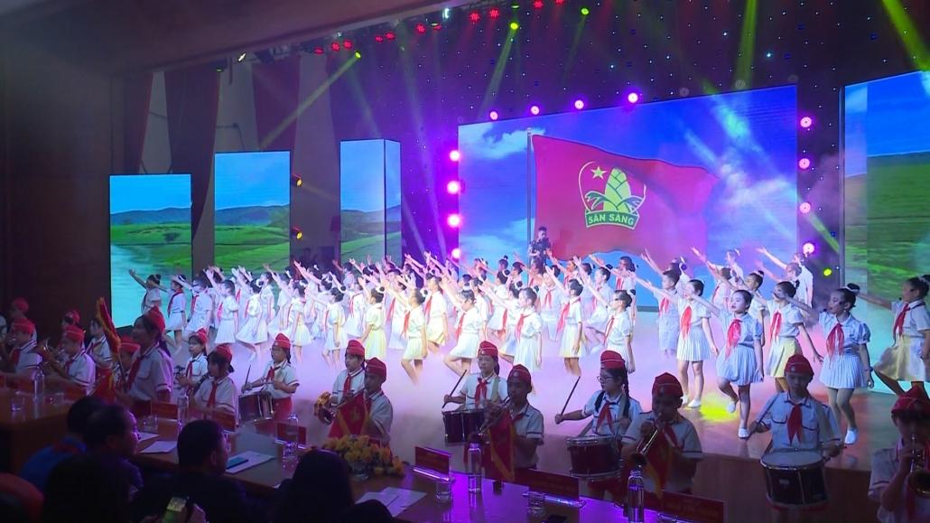 Phát động 8 tuần thi đua cao điểm chào mừng ngày thành lập Đội TNTP Hồ Chí Minh