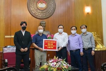 HLV Park Hang-seo chung tay kêu gọi ủng hộ 100.000 USD chống COVID-19