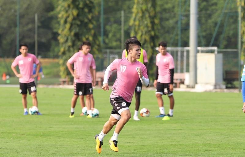 Quang Hải, Công Phượng sung sức chuẩn bị trở lại với V-League 2020