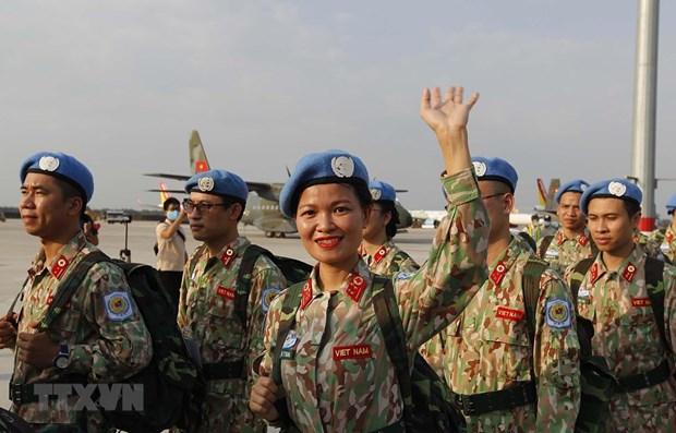 Bệnh viện dã chiến cấp 2 số 2 trở về an toàn từ Cộng hòa Nam Sudan