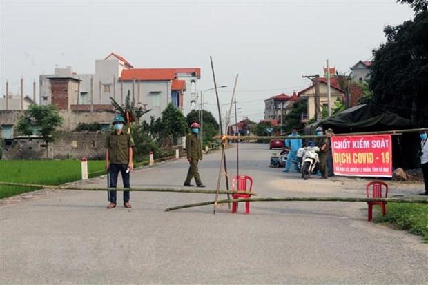 Hoạt động phòng, chống dịch COVID-19 trên địa bàn tỉnh Thái Nguyên