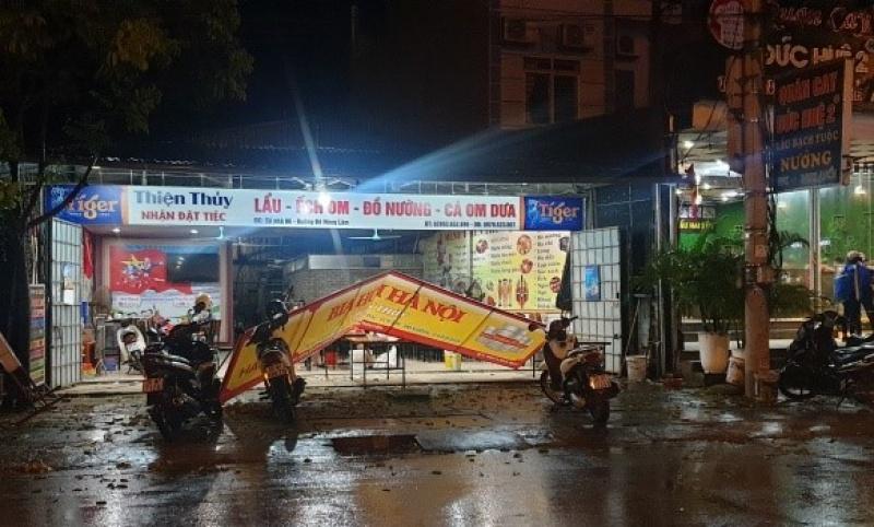 Thái Nguyên: Mưa giông kèm theo lốc gây thiệt hại ước tính trên 21,8 tỷ đồng