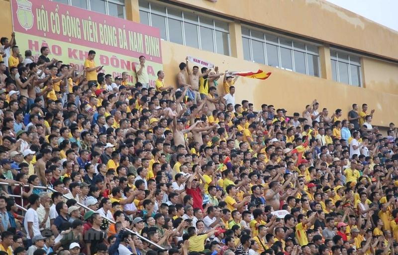 Cúp Quốc gia 2020: Trận Nam Định-Hoàng Anh Gia Lai mở của với khán giả