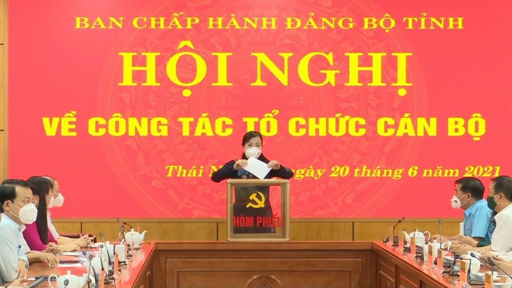 Thực hiện quy trình nhân sự tái cử chức danh Phó Trưởng đoàn chuyên trách Đoàn ĐBQH tỉnh Thái Nguyên khóa XV