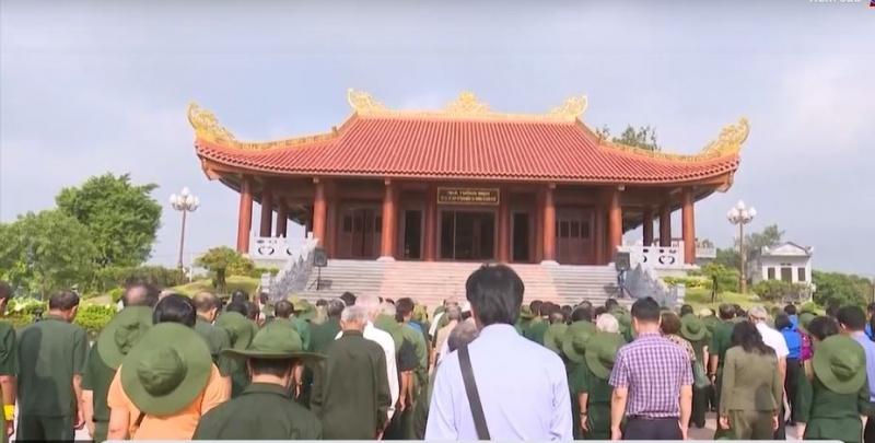 Tưởng niệm 60 liệt sỹ thanh niên xung phong Đại đội TNXP, Đội 91 Bắc Thái
