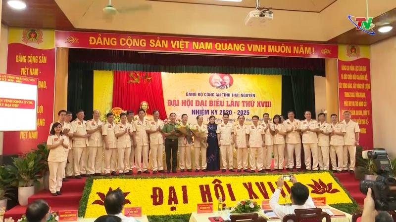 dai hoi dai bieu dang bo cong an tinh thai nguyen lan thu xviii nhiem ky 2020 2025