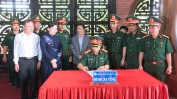 Bộ Tổng Tham mưu về nguồn nhân dịp kỷ niệm 75 năm ngày truyền thống Bộ Tổng tham mưu QĐND việt nam